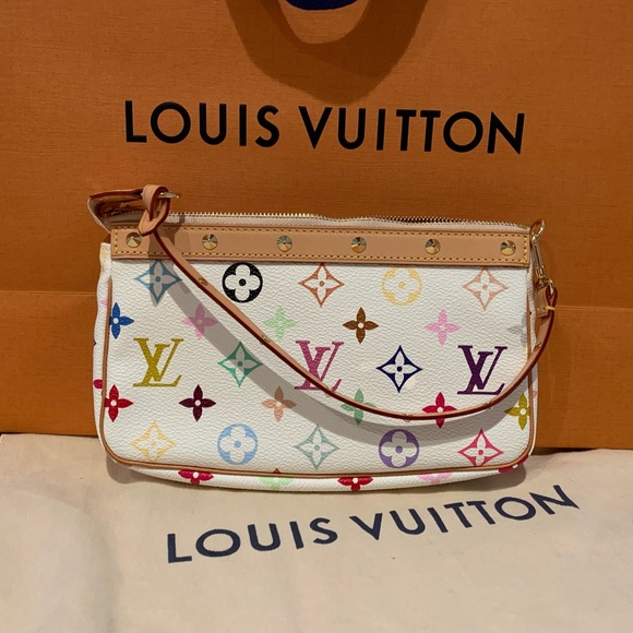 c0c18970f84b25 Louis Vuitton Bags | Nwt Multicolor Mini Pochette | Poshmark